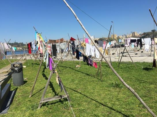 Community washing area